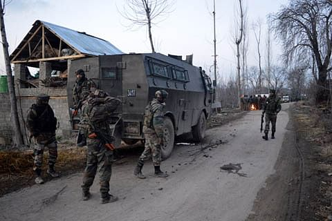 Militant killed in Shopian gunfight, searches on
