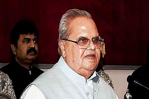 Jammu and Kashmir Governor congratulates two police officers for scaling Mount Everest