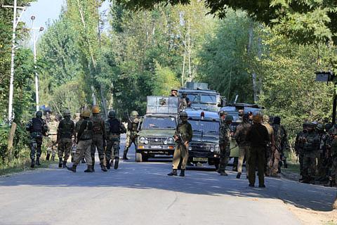 CASO underway in north Kashmir's Sopore, internet suspended