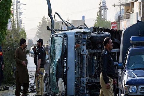 4 policemen killed, 11 injured in blast in Pakistan's Quetta