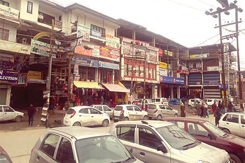 A choked city  Where to park your vehicle in a city suffocated with traffic