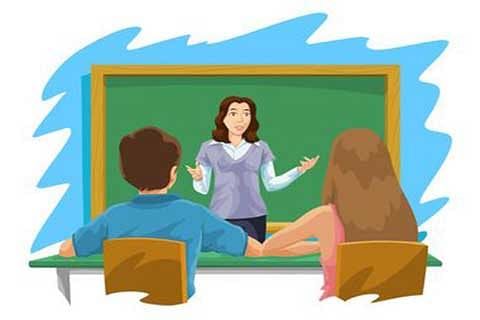 Teacher's first interaction  with the freshers