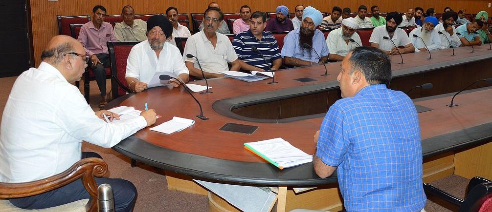 Several delegations, individuals meet Advisor Skandan