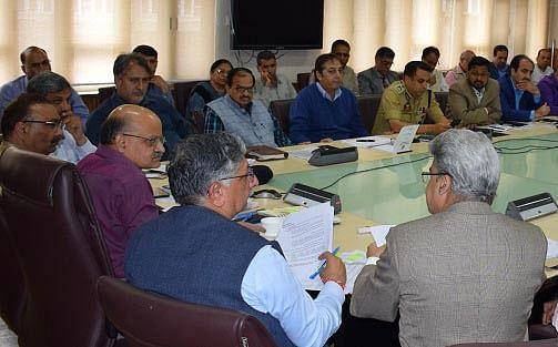 Chief Secretary reviews Yatra arrangements