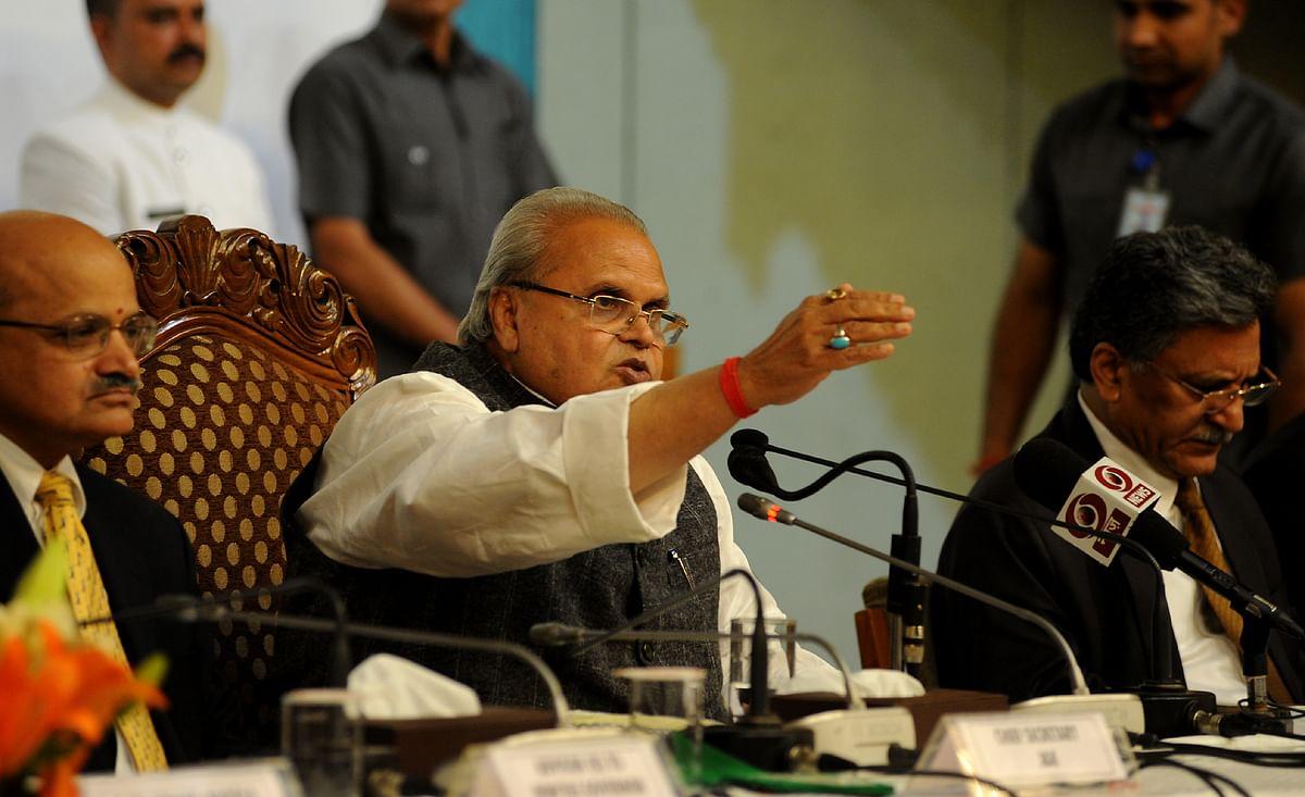 JK Governor says Hurriyat ready for talks, calls it 'encouraging sign'