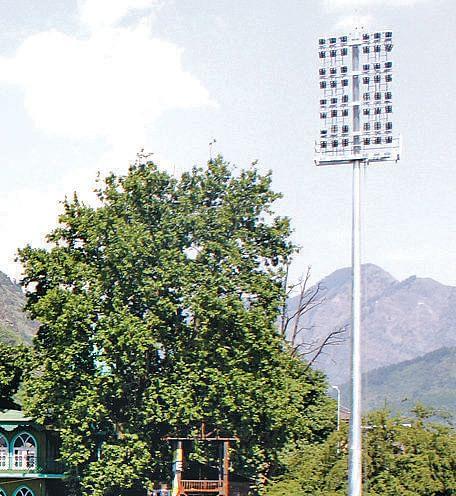 TRC Turf Stadium gets floodlights