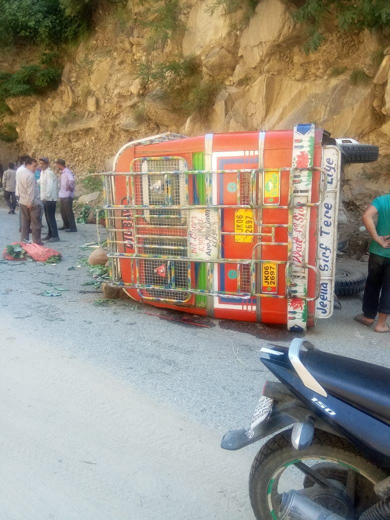18 passengers injured in Kishtwar road accident