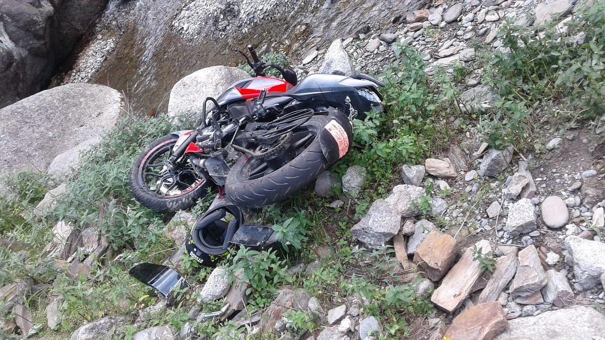 Biker killed, pillion rider injured in Bhaderwah road accident