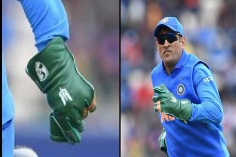 Teammates urge Dhoni to wear army insignia glove against Australia