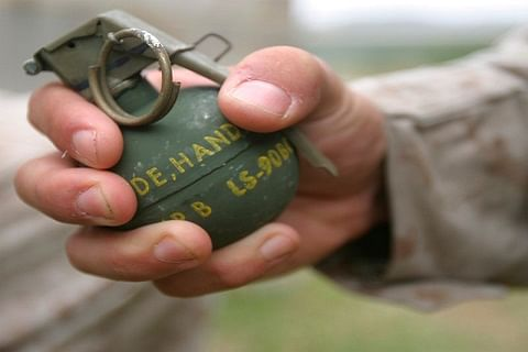 Two policemen wounded in Sopore grenade attack