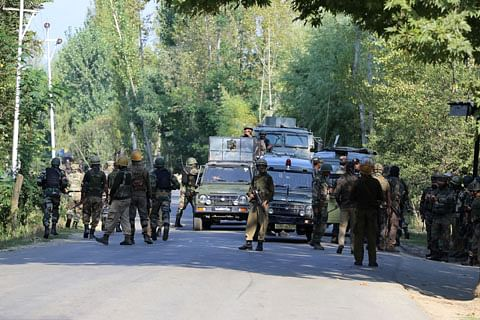 Three militants killed in gunfight with security forces in south Kashmir's Shopian: Police