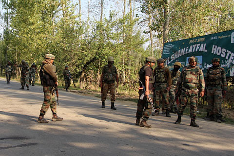 Jammu and Kashmir: Security forces review bullet proof equipment