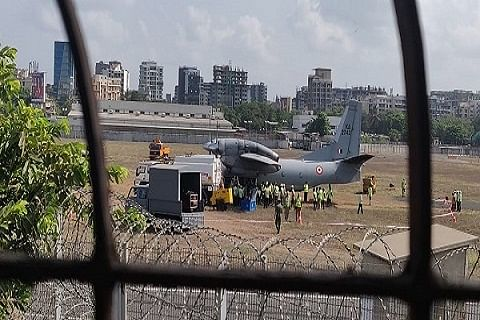 IAF aircraft with 13 people on board goes missing