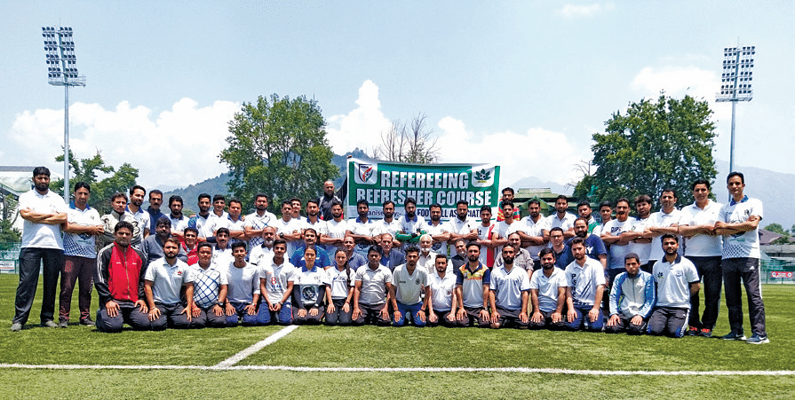 JKFA referee course begins