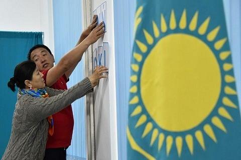 Kazakhs hold first presidential vote without three-decade strongman on ballot