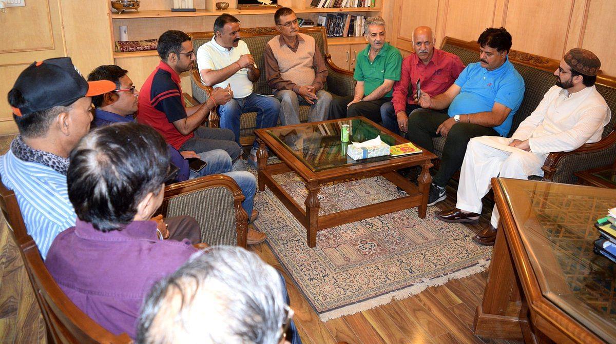 Kashmiri Pandits want to live in common neighbourhoods, not separate colonies: Mirwaiz