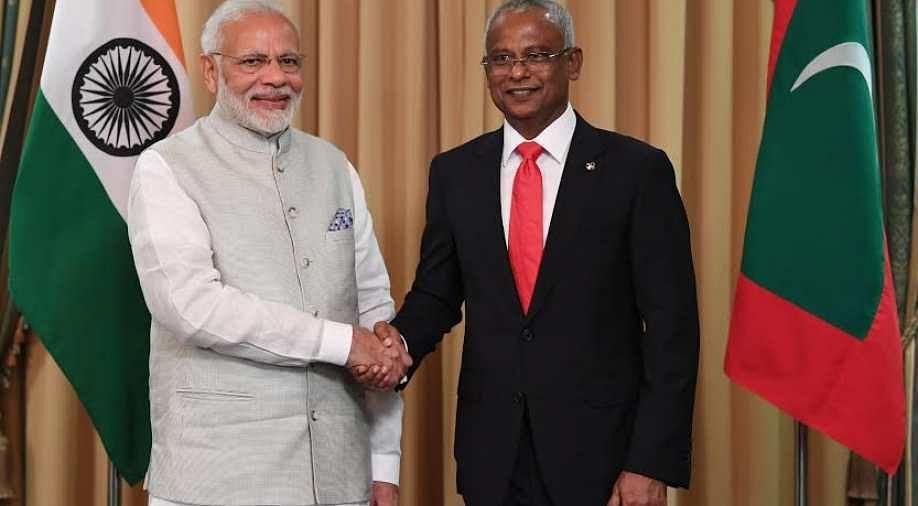 PM Modi, Prez Solih inaugurate coastal surveillance radar system