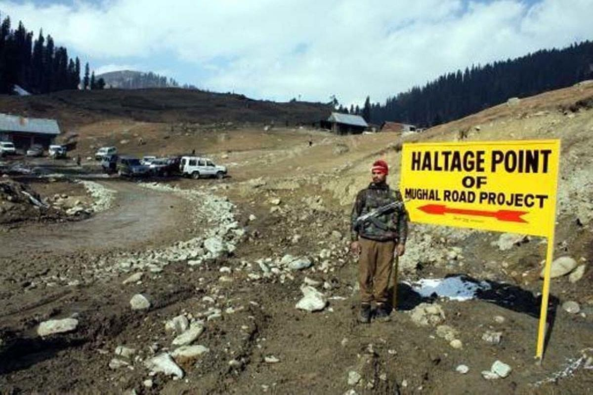 Mughal road closed after rains trigger landslides