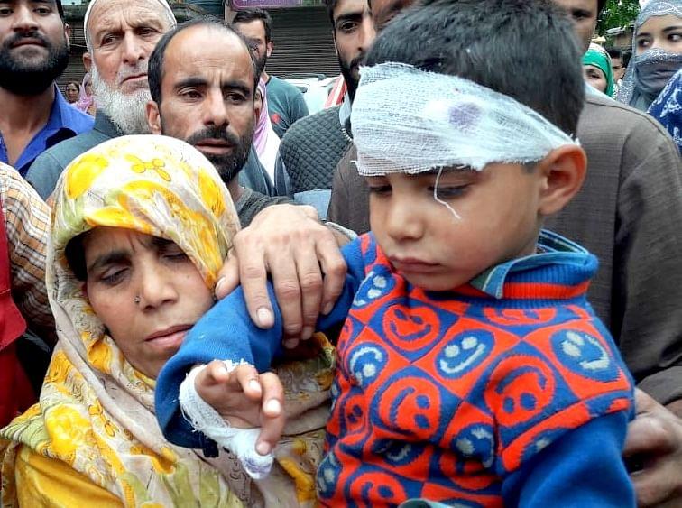 Protest held on Jammu-Srinagar highway in Qazigund after army vehicle hits minor boy