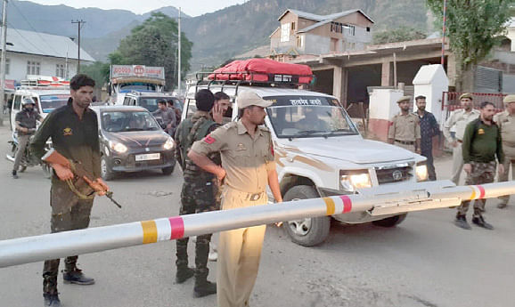 Searches launched in Kishtwar: Police