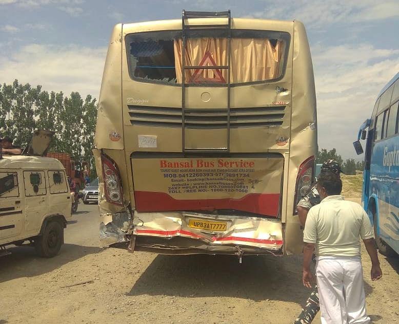 20 Amarnath pilgrims injured in road accident