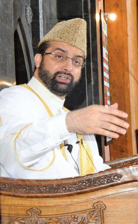 Dialogue only way forward on Kashmir: Mirwaiz