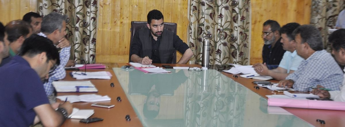 DDC Pulwama reviews status of work on AIIMS project