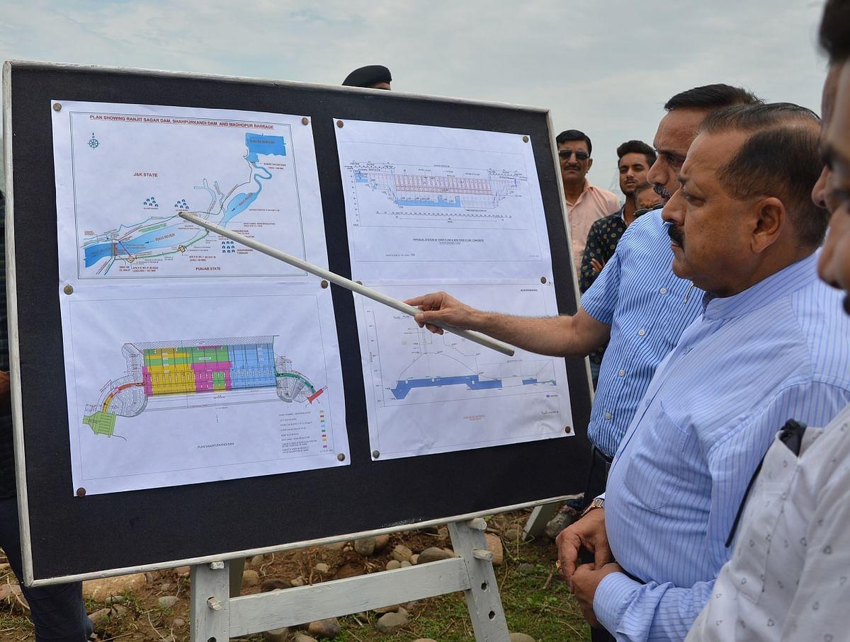 Shahpur-Kandi dam to be functional in 3 yrs: Jitendra