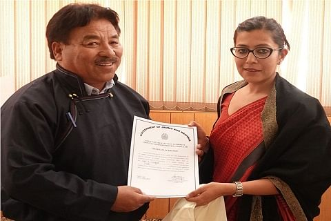 BJP's Gyal Wangyal is new CEC LAHDC-Leh