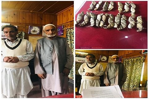 Father-son duo arrested with charas in north Kashmir's Sopore