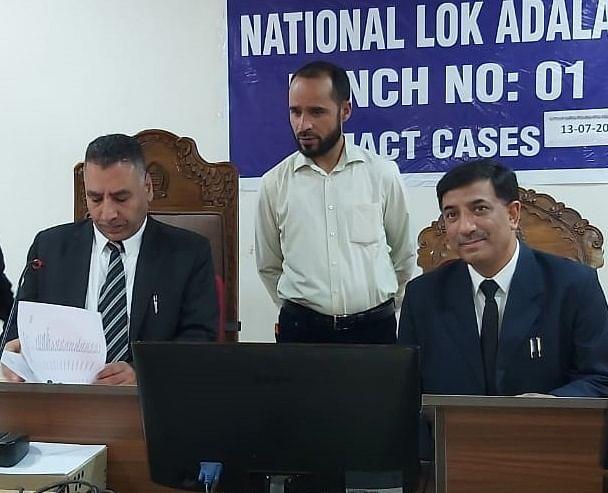 Srinagar, Jammu wings of J&K High Court hold Lok Adalats