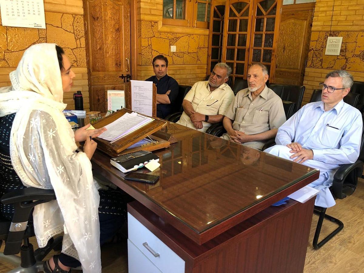 Redress issues of Beerwah, Omar Abdullah urges Govt