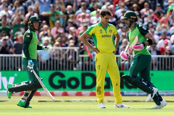 Proteas end World Cup campaign with win over Aussies