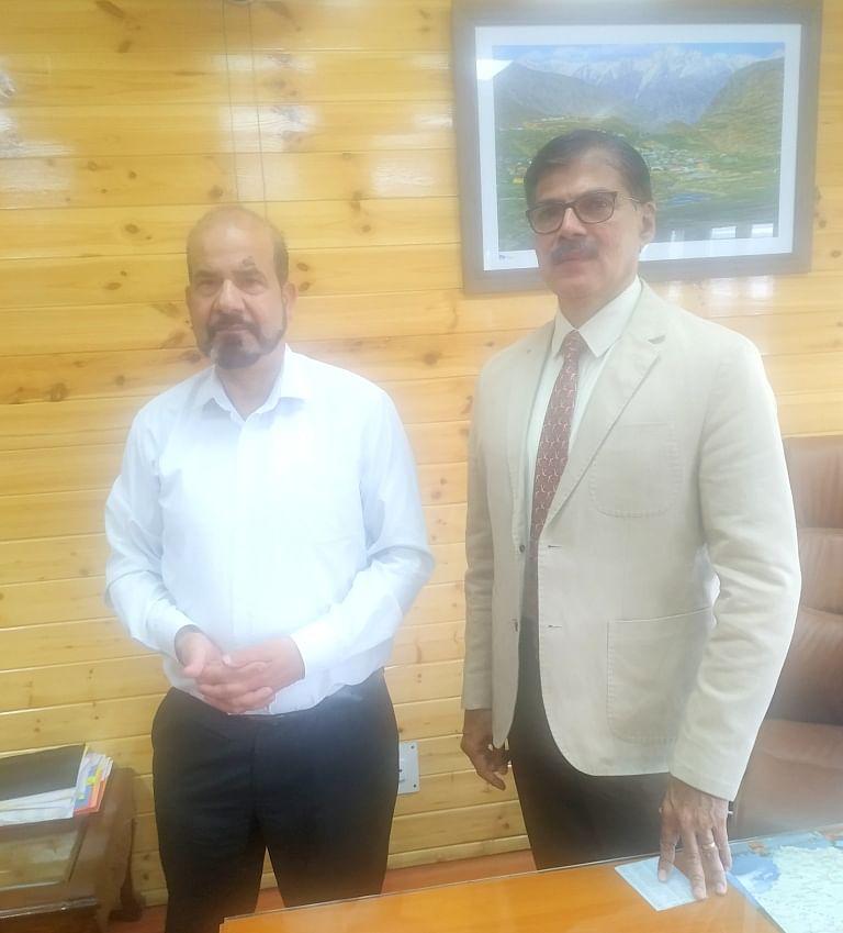 Renzushah calls on Advisor Kumar