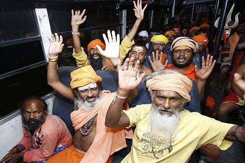 Fresh batch of 4,584 pilgrims leave Jammu for Amarnath