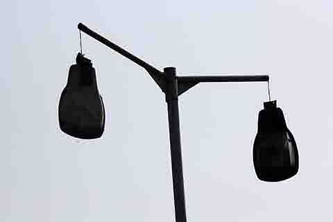 Streetlights in Tral defunct for 8 years, add to peoples' woes