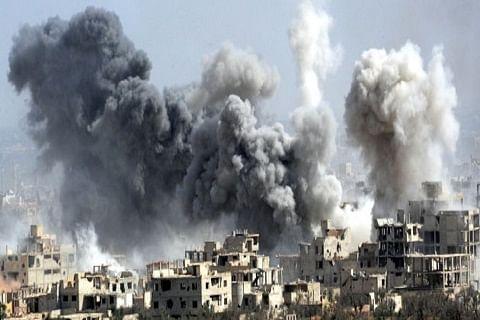Regime bombings kill 14 civilians in northwest Syria: monitor