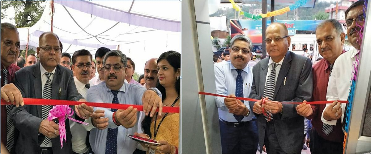 J&K Bank commissions 2 ATMs in Udhampur