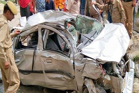 Police officer dies in car accident near Doda in Jammu and Kashmir