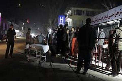 34 killed in powerful Kabul blast