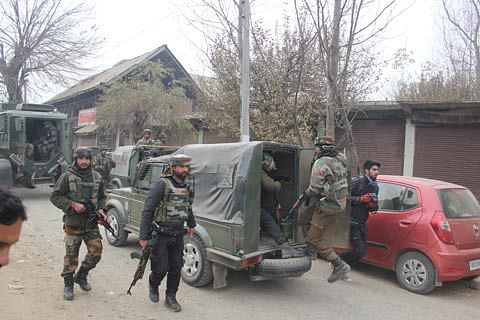 Security forces launch searches in south Kashmir's Kulgam