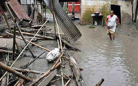 7 killed in Assam floods, north India receives rain