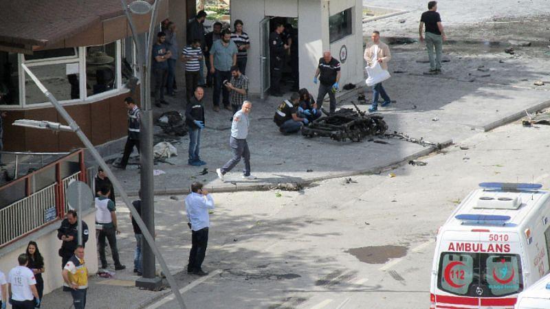 Car blast kills two in Turkish town near Syria border: media