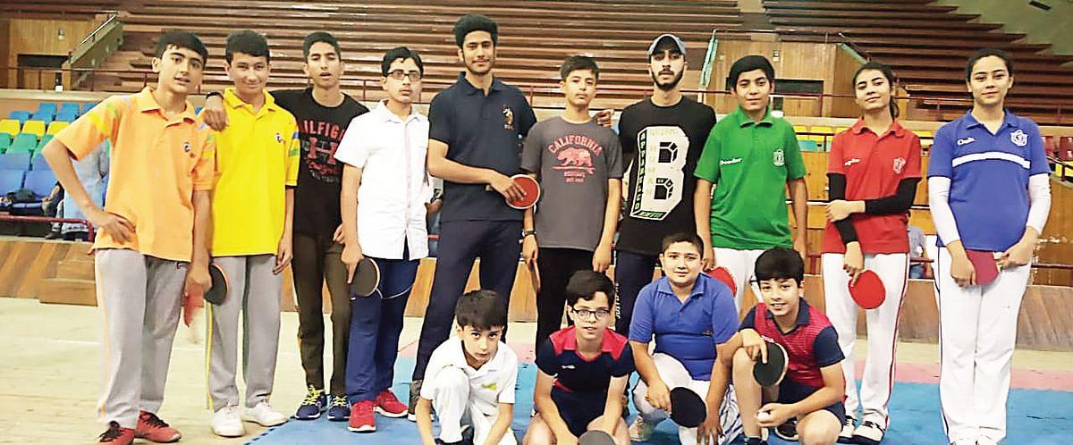 District Srinagar Table Tennis championship   DPS Srinagar twins set to clash in final