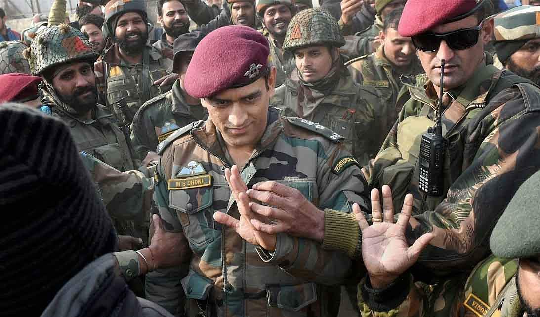 Dhoni's stint with Army in Valley begins today