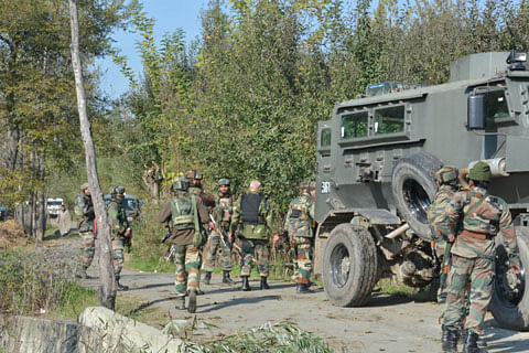 Gunfight underway in Sopore in north Kashmir, two militants believed to be trapped