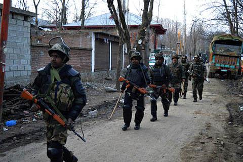 Militant killed in Sopore gunfight, searches on