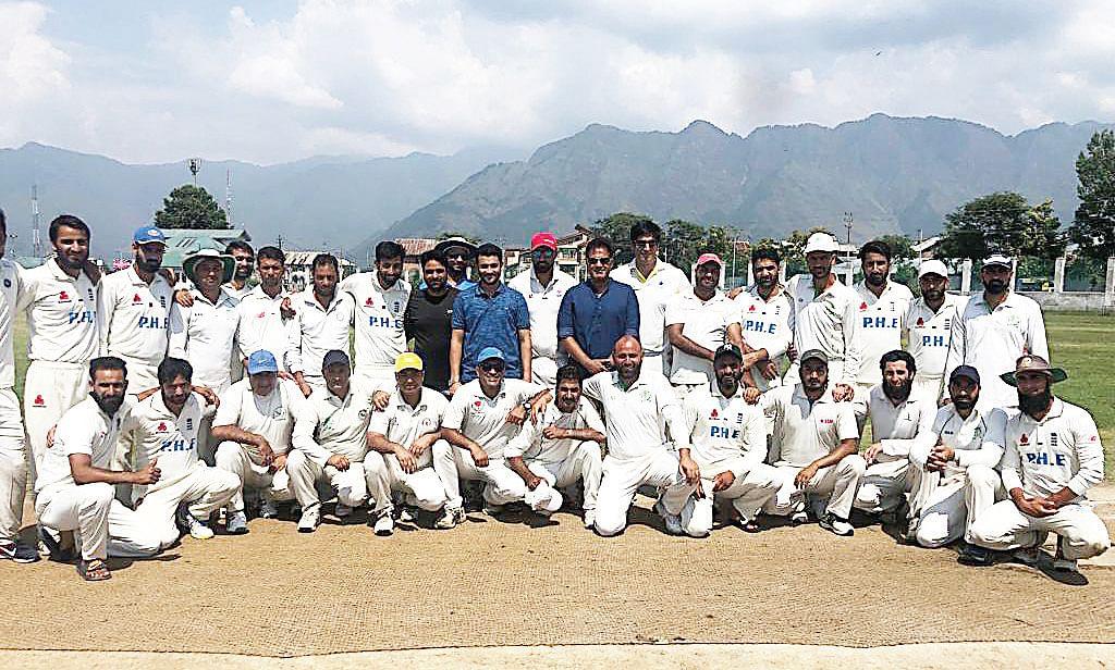 First-ever Inter-Govt deptt Cricket Tournament kicks off at Kashmir University