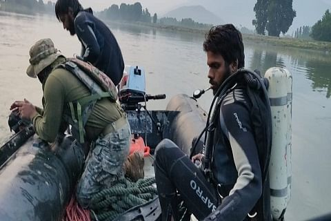 Body of drowned boy fished out from Jhelum in Sumbal