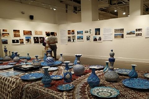 Iranian Islamic art on exhibition in Delhi